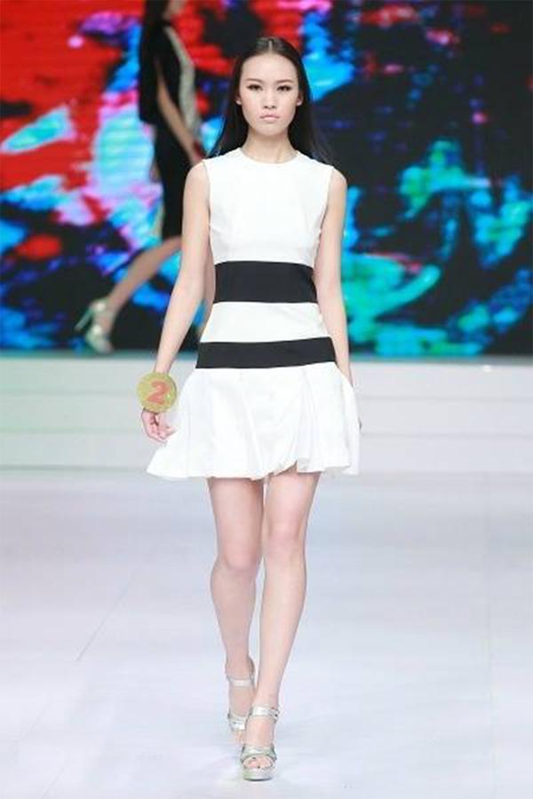 我校朱婕同学获2014中国超级模特大赛十佳; 苏州大学本科招生网;